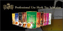 Professional Use Herb Tea Selection