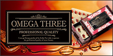 OMEGA THREE PROFESSIONAL QUALITY